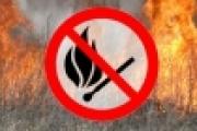 Про небезпеку спалювання сухої трави, опалого листя та інших рослинних залишків