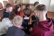 """З дев""""ятикласниками провели тренінг на правову тематику"""