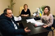 Про професійне навчання говорили з учасниками АТО