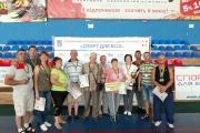 Нововолинці вибороли 11 призових місць у регіональних змаганняхВсеукраїнської спартакіади серед інвалідів праці «Сила духу»
