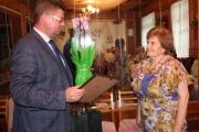 Керівника Нововолинського осередку Суспільної служби України Марію Карпінську привітали з ювілеєм