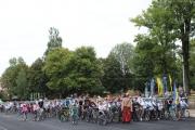 У Нововолинську відбувся велопробіг у вишиванках