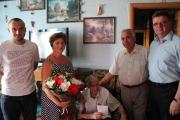 Привітали ветерана шахтарської праці Володимира Сівака