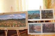Осінні мотиви - на полотнах нововолинських художників