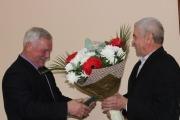 Міський голова привітав Сергія Сая із 75-річчям з дня народження