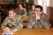 Нововолинських військових привітали зі святом