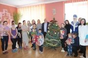 Привітали маленьких пацієнтів Нововолинської лікарні