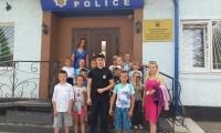 У Нововолинське відділення поліції завітали юні гості