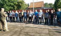 Нововолинські військовозобов'язані - резервісти проходять навчання