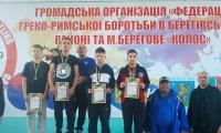 Успіхи нововолинських борців