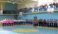 Конкурс з ритмічної гімнастики відбувся у Нововолинську