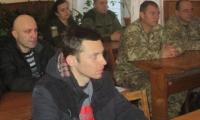 Військовослужбовців привітали із річницею створення Збройних Сил України