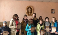 Нагородили переможців міського етапу конкурсу «Рятувальники очима дітей»